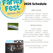 Milbank Farley Fest Weekend Schedule