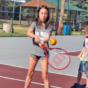 Kids Ace Tennis Lessons at Cantine Court