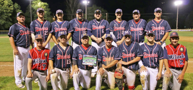 The Chiefs are on Fire; Undefeated Heading into State Amateur Baseball Tournament