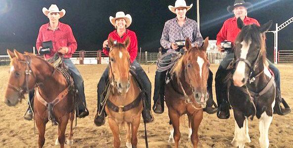 Flat Hills Arena Team Wins WVRA Ranch Rodeo