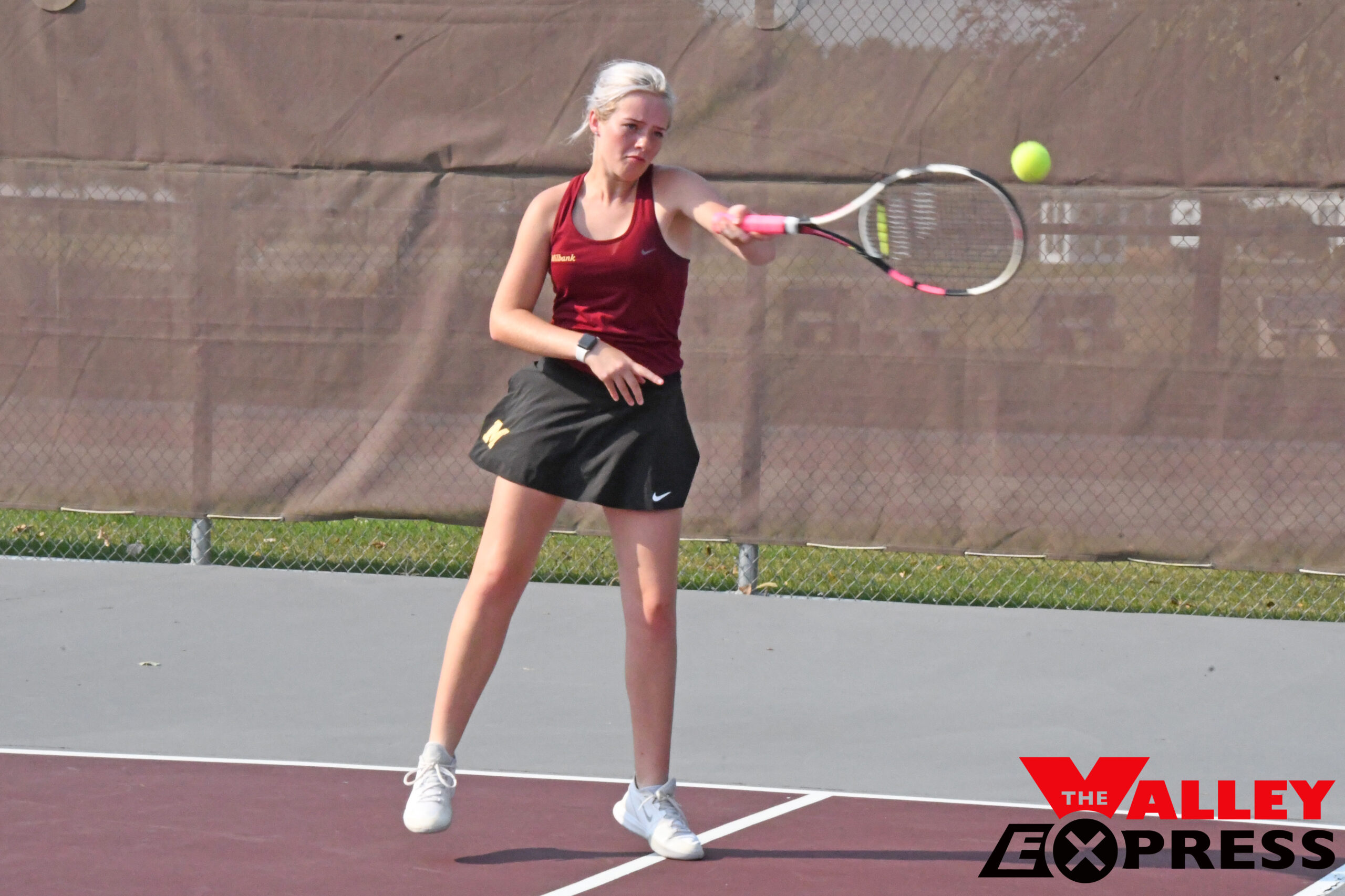 Girls Tennis Team Win Battle of the Bulldogs