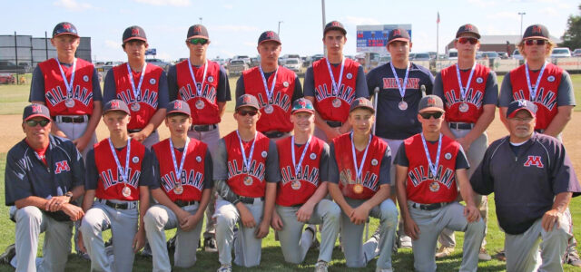 Milbank VFW Teeners Take Fourth Place at State A Baseball Tournament