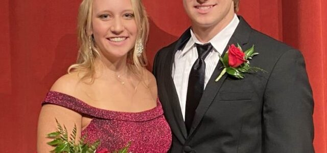 Toby Schneck and Jessica Van Peursem Crowned MHS Homecoming Royalty