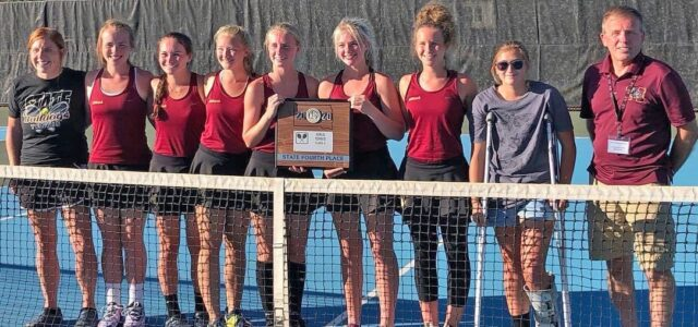 Lady Bulldogs Win Fourth at State Tennis Tourney