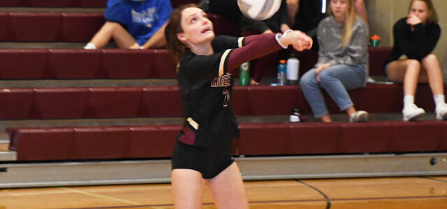Lady Bulldogs Cruise to First Win of Volleyball Season