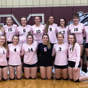 Lady Bulldogs Take Beresford to Five Sets in Triangular