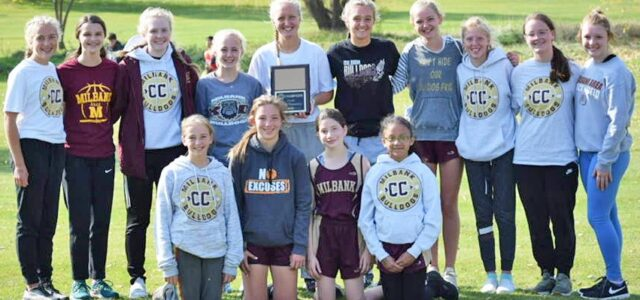 Milbank Girls Cross Country Team Win NEC Title