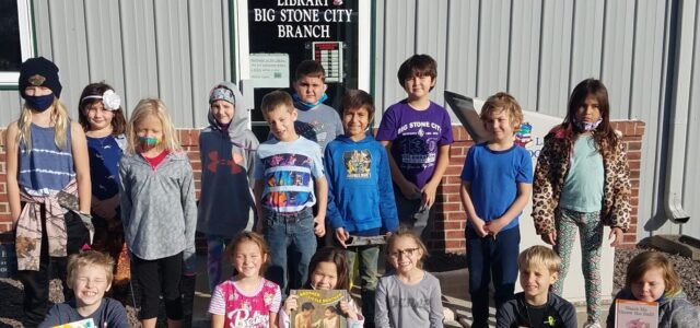 Second and Third Graders Visit Big Stone Library