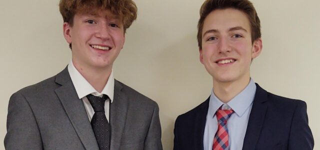 Sophomore Debaters Win Second Place in Sioux Falls Tournament