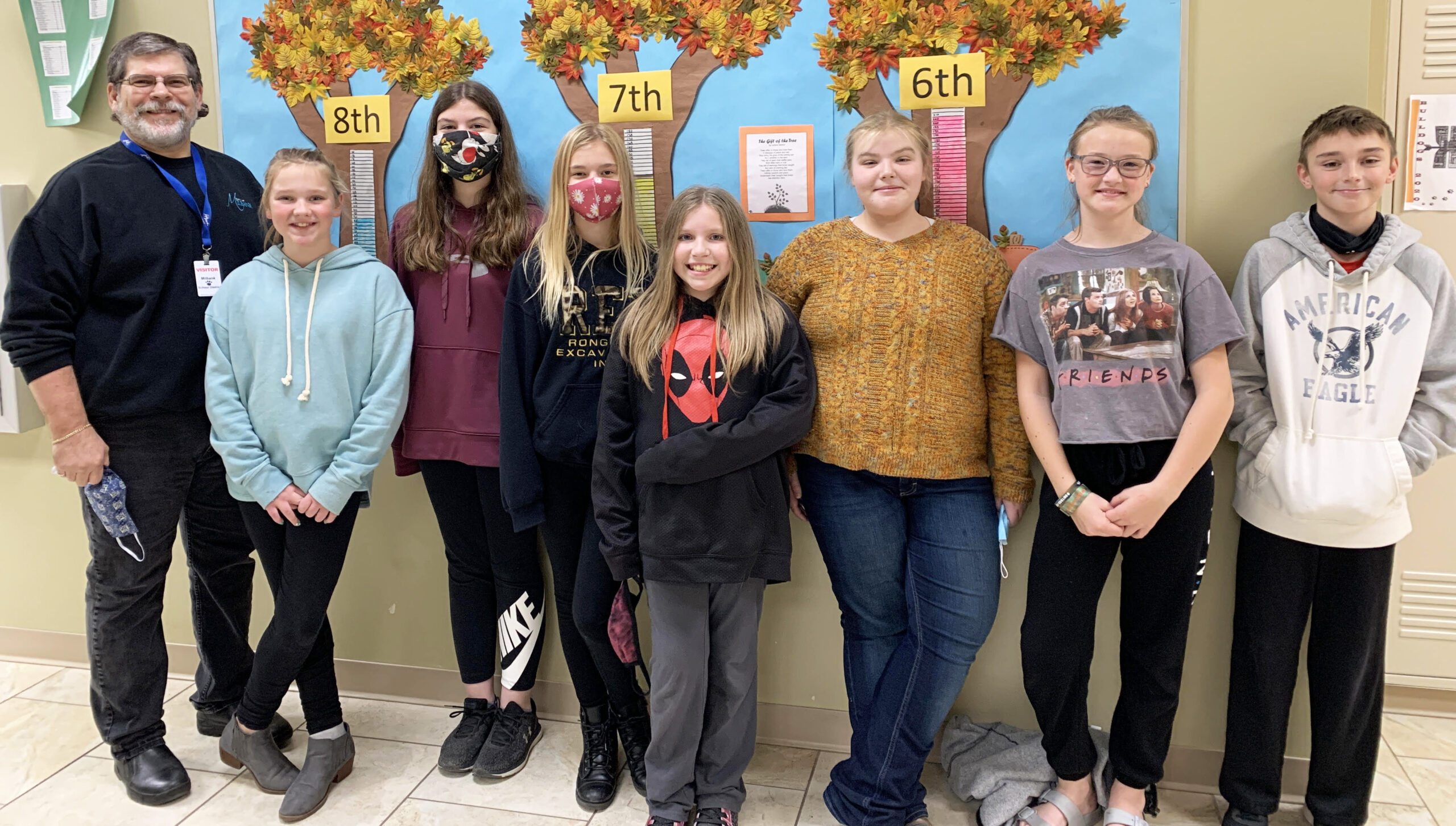 Milbank Middle School Raises Funds to Purchase Trees