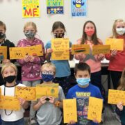 Milbank Third Grade Students Write Letters to Park Place Residents