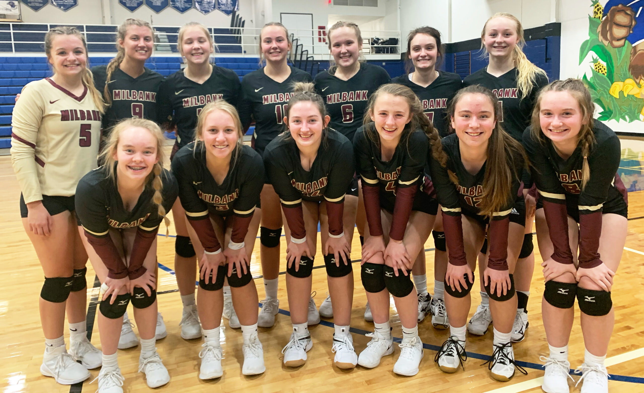 Lady Bulldogs Near Perfect at Serving in Redfield