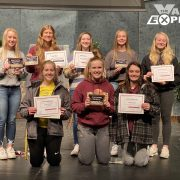 Lady Bulldogs Volleyball Team Rallies for Season-End Awards
