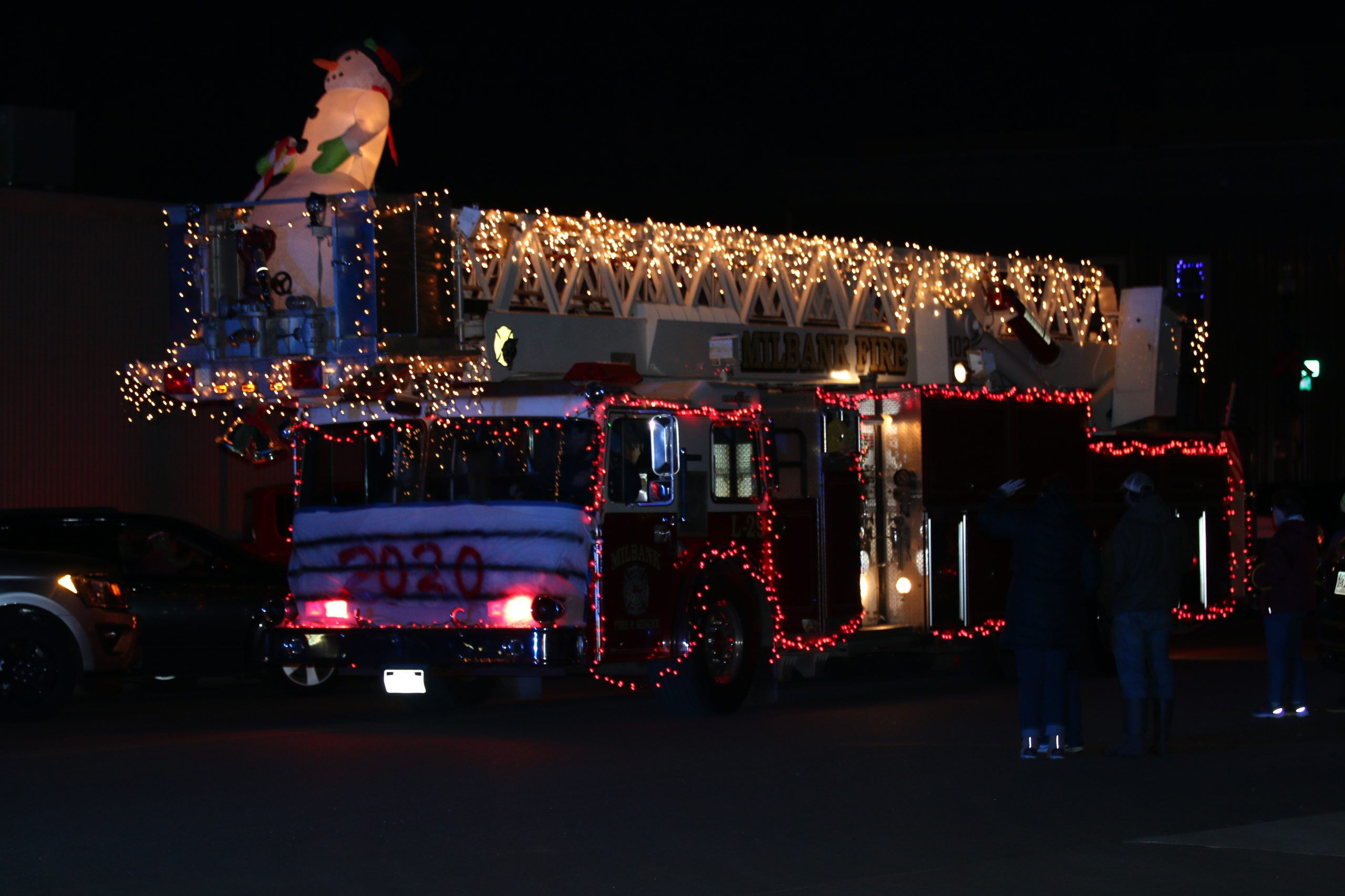 milbank fire dept ladder truck