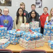 Middle School Holds Penny War for Angel Tree