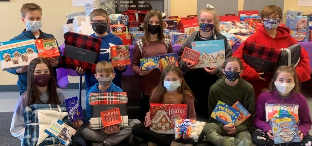 St. Lawrence School Donates Blessing Bags