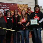 Casey's Holds Ribbon Cutting in New Location