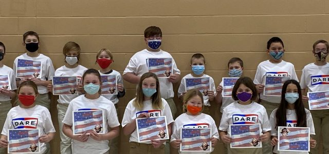St. Lawrence School Holds DARE  Graduation