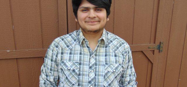 Jose (Alonzo) Flores de Salazar Chosen as MHS Student of the Month