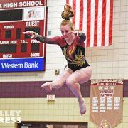 Milbank Gymnasts Bounce Back to Top Estelline-Hendricks