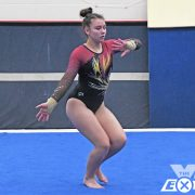 Milbank Gymnasts Compete with Full Lineup