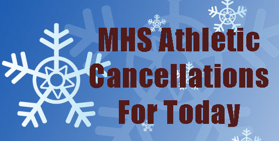 Blizzard Warning Changes MHS Sporting Events