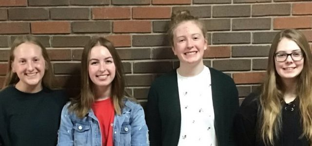 Brown, Hupke, Osowski, and Stengel Selected for 2021 Girls State
