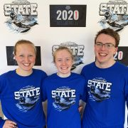 Milbank Swimmers Bring Home Hardware from State Meet
