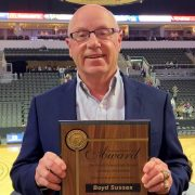 Boyd Sussex Receives SDHSAA Distinguished Service Award