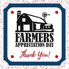 Free Farmers Appreciation Event March 30 at Visitors Center
