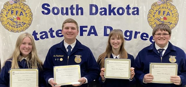 Milbank FFA Teams Excel at State Competition