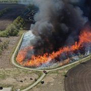 Fire Department Burns Flynn Trail
