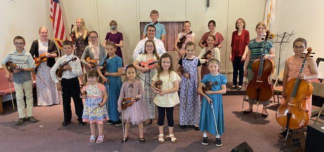 Whetstone Valley Strings Presents Spring Recital