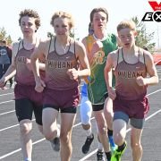Milbank Runners Place High at Webster Invitational