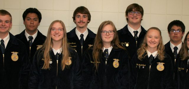 Sousa Selected as Milbank FFA Chapter President for 2021-2022