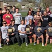 Bulldog Track Team Blows Away the Competition to Win Both NEC Titles