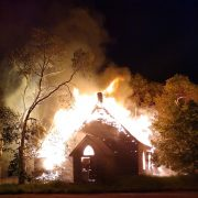 Two Buildings Burn to the Ground in Marvin