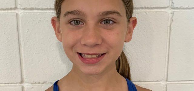 Jada Leigh Wellnitz Named Swimmer of the Meet