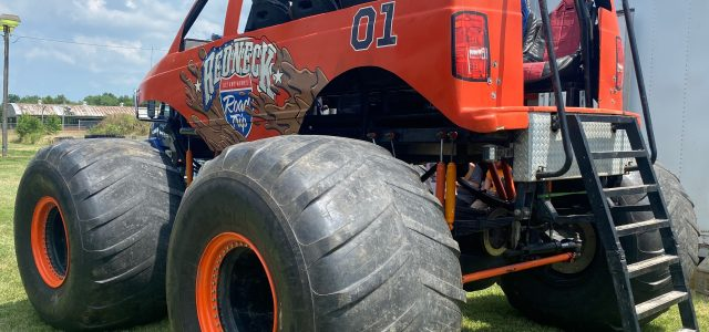 Ride in Two Monster Trucks  at Farley Fest on Saturday
