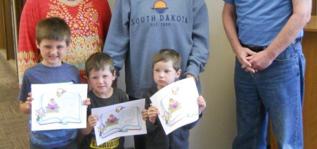 Bjordahl and Henrich Preschoolers Read 1000 Books