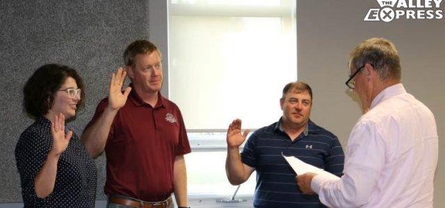New Milbank City Council Members Sworn In