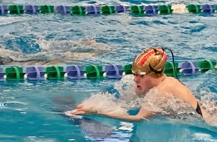 Osowski Wins Bronze Medal at State A Swim Meet