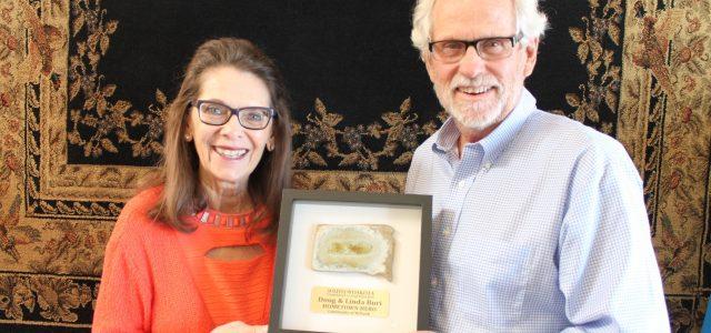 Doug and Linda Buri Receive SD Hometown Hero Award