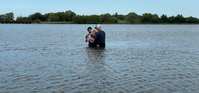 Baptisms Performed at Lake Farley Today