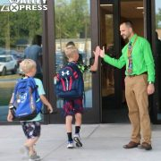 Milbank School Opens Today With 993 Students