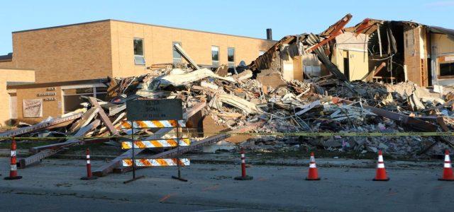 Demolition Begins On Koch School