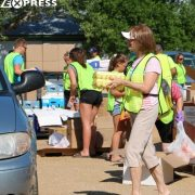Food Giveaway in Milbank  on August 18