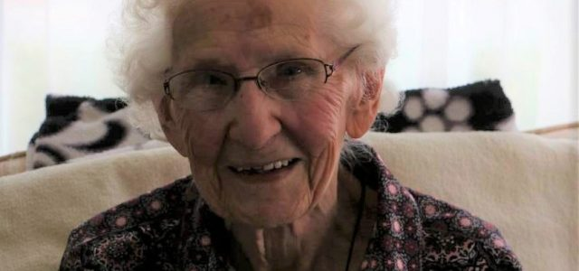 Lucille Hublou Celebrates Her 100th Birthday Today