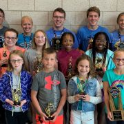 MALST Swimmers Hold Awards Banquet