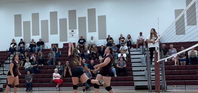 8th-Grade Volleyball Team Challenges Ortonville